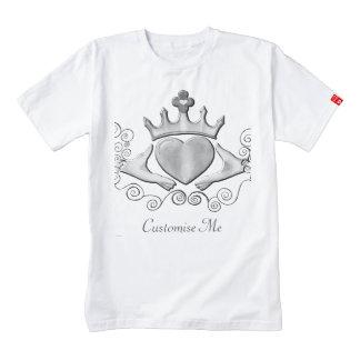 The Claddagh (Silver) Zazzle HEART T-Shirt