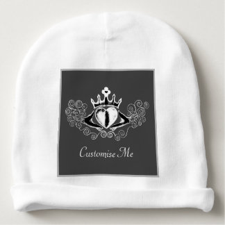 The Claddagh (White) Baby Beanie