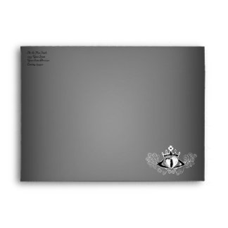 The Claddagh (White) Envelope