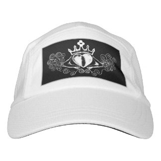The Claddagh (White) Headsweats Hat