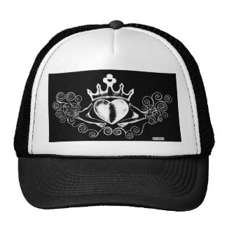 The Claddagh (White) Trucker Hat