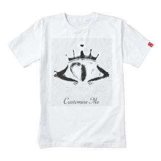 The Claddagh (White) Zazzle HEART T-Shirt