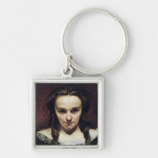 The Clairvoyant or, The Sleepwalker, c.1865 Keychain