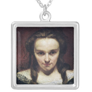 The Clairvoyant or, The Sleepwalker, c.1865 Silver Plated Necklace