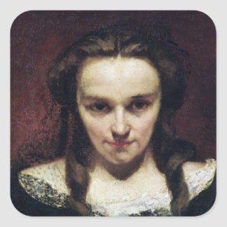 The Clairvoyant or, The Sleepwalker, c.1865 Square Sticker