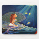 The Clamshell Mermaid - Mouse Pad