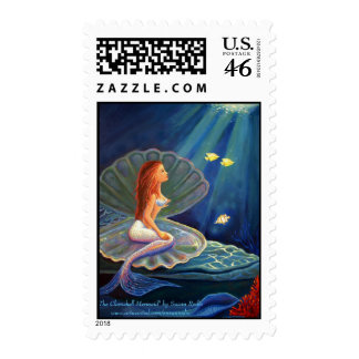 The Clamshell Mermaid - US Stamps