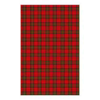 The Clan Steward Tartan Stationery Design
