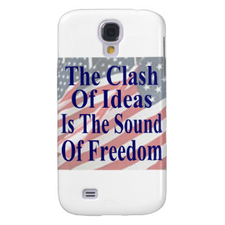 The Clash of Ideas is the Sound of Freedom Samsung Galaxy S4 Covers