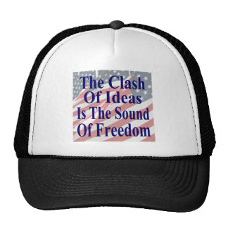 The Clash of Ideas is the Sound of Freedom Mesh Hats