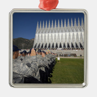 The Class of 2012 recites the Oath of Allegianc Metal Ornament