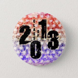 THE CLASS OF 2013 PINBACK BUTTON