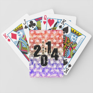 THE CLASS OF 2014 BICYCLE POKER DECK