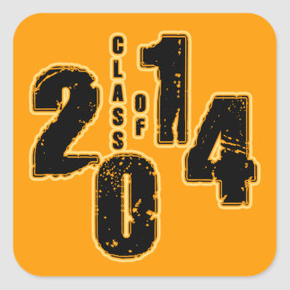 THE CLASS OF 2014 STICKERS