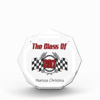 The Class of 2017 Graduation Checkered Flag Award