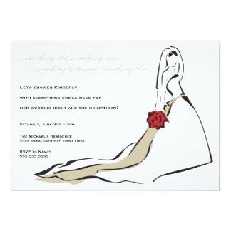 The Classic Bride Card