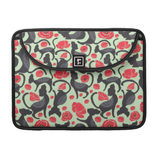 The Classic Cat Pattern Sleeve For MacBooks