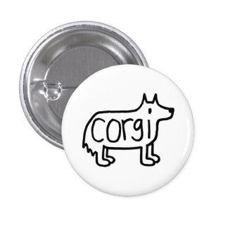 the classic corgi button