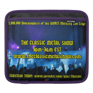The Classic Metal Show iPad Case