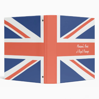 The Classic Union Jack 3 Ring Binder