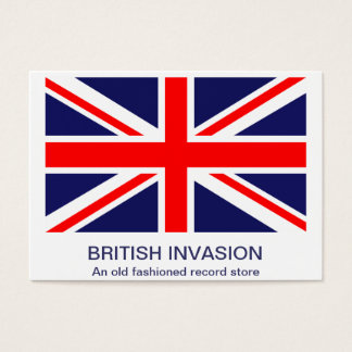 The Classic Union Jack Business Card