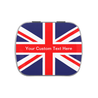 The Classic Union Jack Jelly Belly Tins