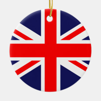 The Classic Union Jack Christmas Ornaments