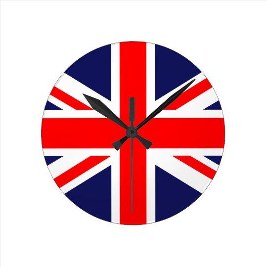 The Classic Union Jack Round Clock