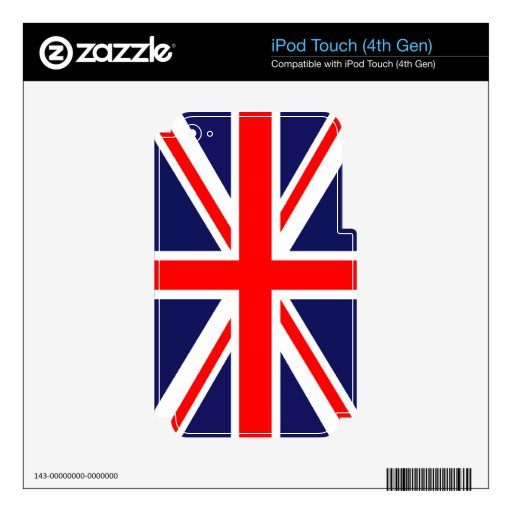 The Classic Union Jack iPod Touch 4G Skins