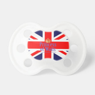 The Classic Union Jack with Princess of Wales Pacifier