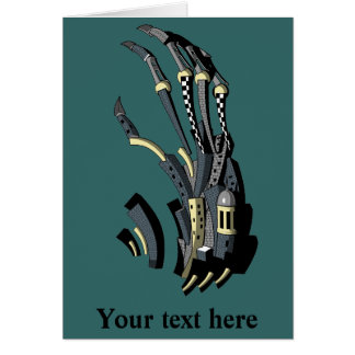 The Claw Greeting Card