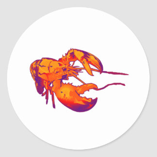 THE CLAWS OUTREACHED CLASSIC ROUND STICKER