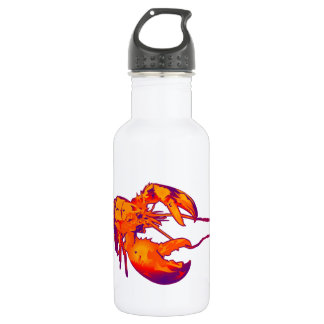 THE CLAWS OUTREACHED WATER BOTTLE