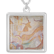 The Cleansing of the Temple Silver Plated Necklace