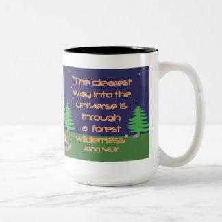 The clearest way mug