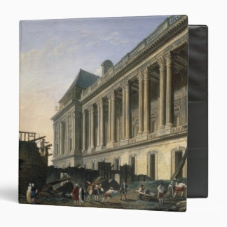 The Clearing of the Louvre colonnade, 1764 Vinyl Binder