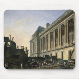 The Clearing of the Louvre colonnade, 1764 Mousepads