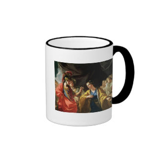 The Clemency of Alexander the Great Coffee Mug
