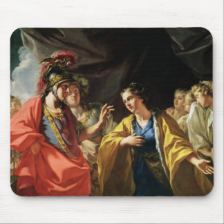 The Clemency of Alexander the Great Mouse Pad