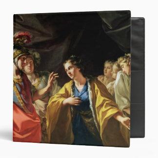 The Clemency of Alexander the Great Vinyl Binder