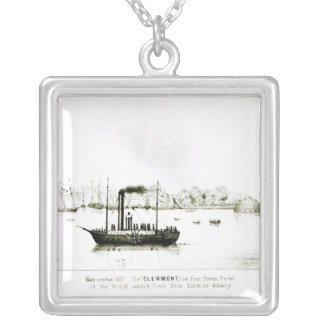 The 'Clermont', the first Steam Packet Silver Plated Necklace