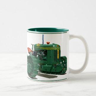 The Cletrac HG Two-Tone Coffee Mug