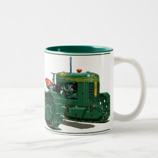 The Cletrac HG Two-Tone Coffee Mug
