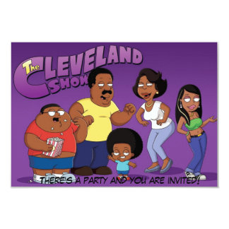 The Cleveland Show Invitation