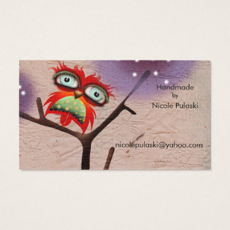 The Clever Feather ( Futura Typo 2 ) Business Card