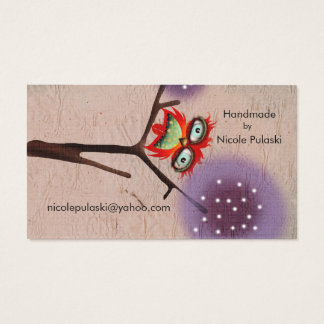 The Clever Feather ( Futura Typo 3 ) Business Card
