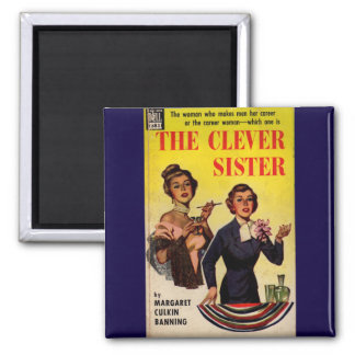 The Clever Sister 1950s pulp novel cover Magnet