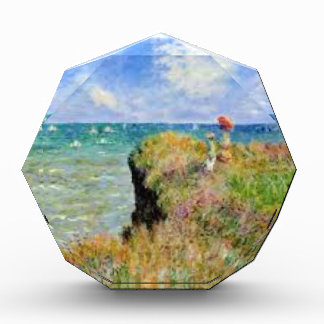 The cliff of Pourville of Claude Monet Acrylic Award
