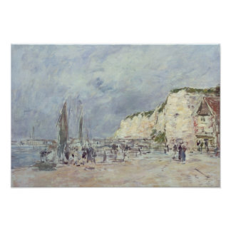 The Cliffs at Dieppe and the 'Petit Paris' Poster