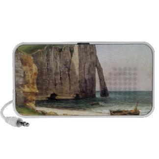 The Cliffs at Etretat 1869 iPhone Speakers